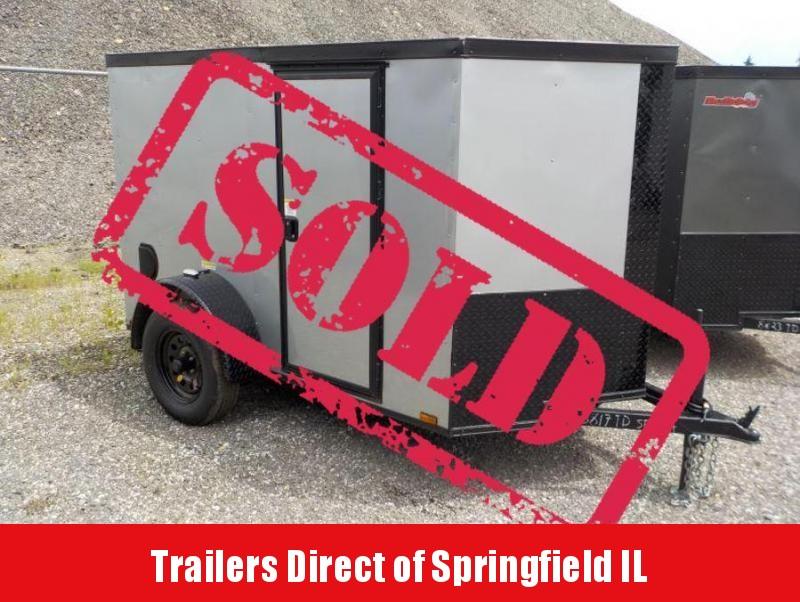 2018 Doolittle Trailer Mfg Bulldog 5x8 Enclosed Cargo Trailer