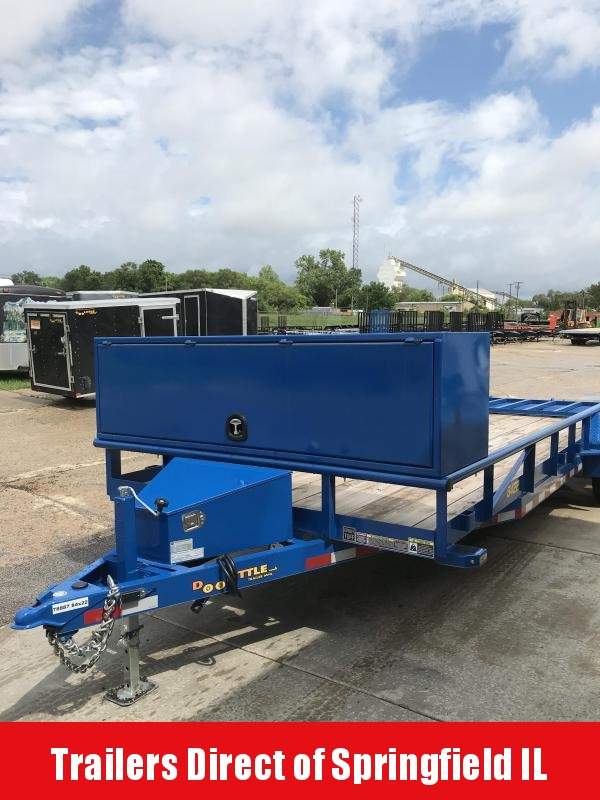 2019 Doolittle Trailer Mfg 84x22 Tandem Axle 7K Utility Trailer