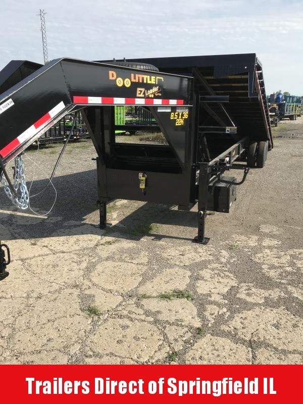 2019 Doolittle Trailer Mfg 102x36 Full Tilt EZ Loader 22K Equipment Trailer