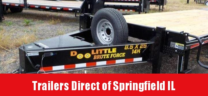 2019 Doolittle Trailer Mfg Brute Force Tandem Axle 14K Equipment Trailer