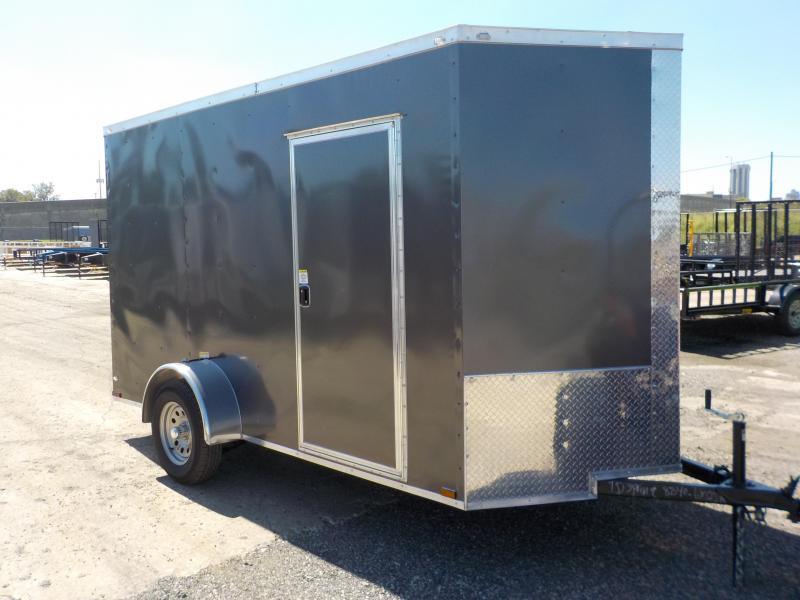 2019 Doolittle Trailer Mfg Bulldog Cargo 6x12 Enclosed Cargo Trailer