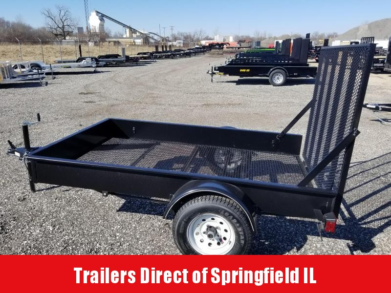 2019 Doolittle Trailer Mfg MSS Single Axle 60 x 8 Utility Trailer