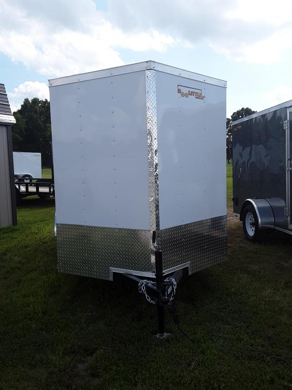 2020 Doolittle Trailer Mfg 6 X12 RALLY SPORT Enclosed Cargo Trailer REAR RAMP DOOR 2990 GVWR