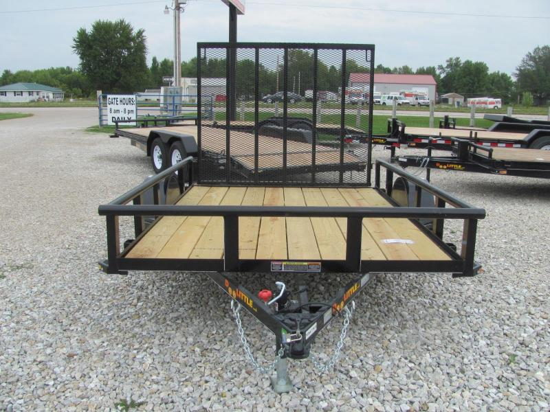 "New 2020 Doolittle 77"" x 10 Pipe Rail SA Utility Trailer"