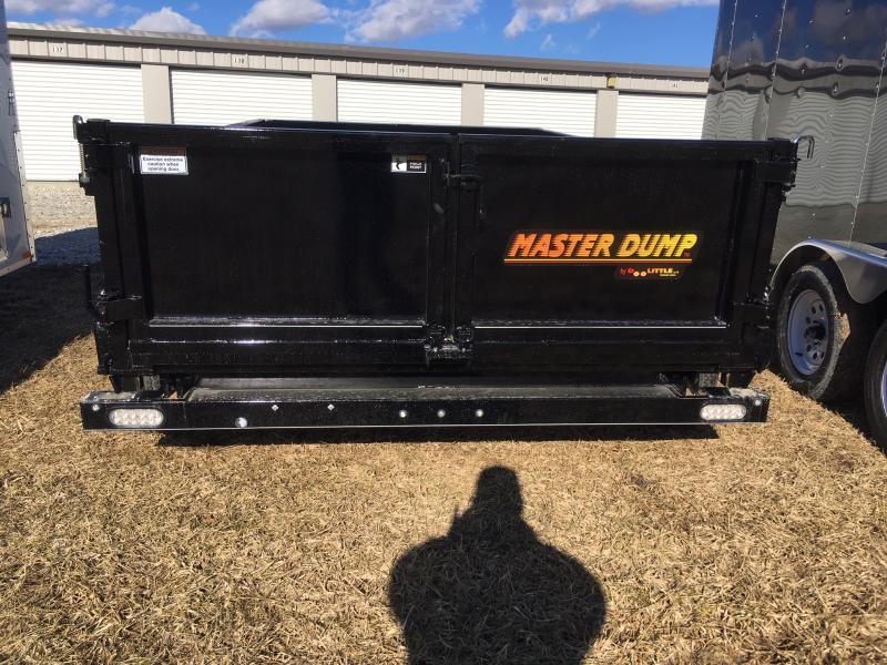 "2020 Doolittle 72"" x 10' Master Dump Trailer 7000 GVWR SINGLE CYLINDER LIFT"