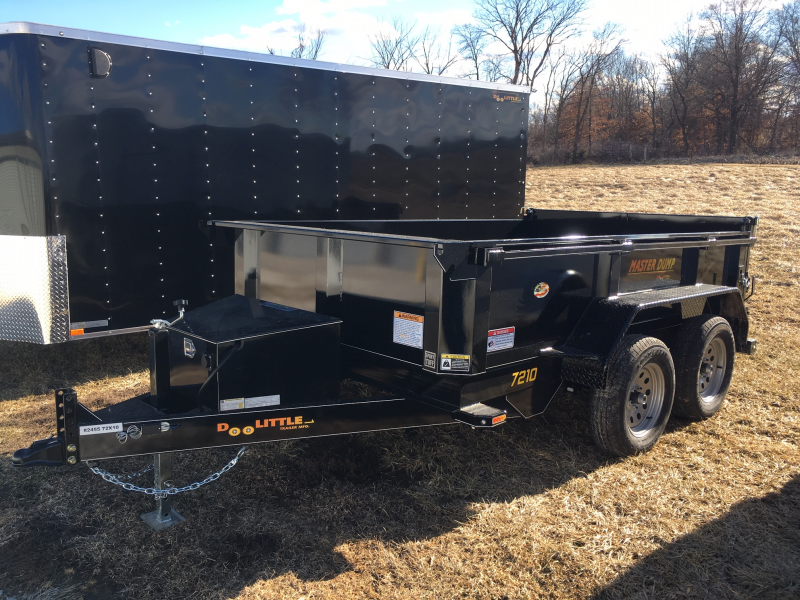 "2020 Doolittle 72"" x 10' Master Dump Trailer 7000 GVWR SINGLE CYLINDER LIFT"