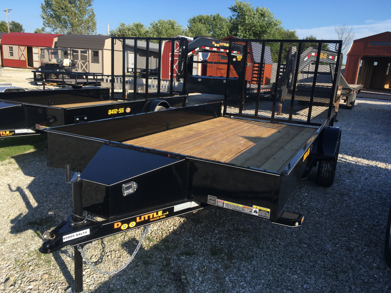 "2020 Doolittle Trailer Mfg 84"" X 14' SS Utility Trailer"