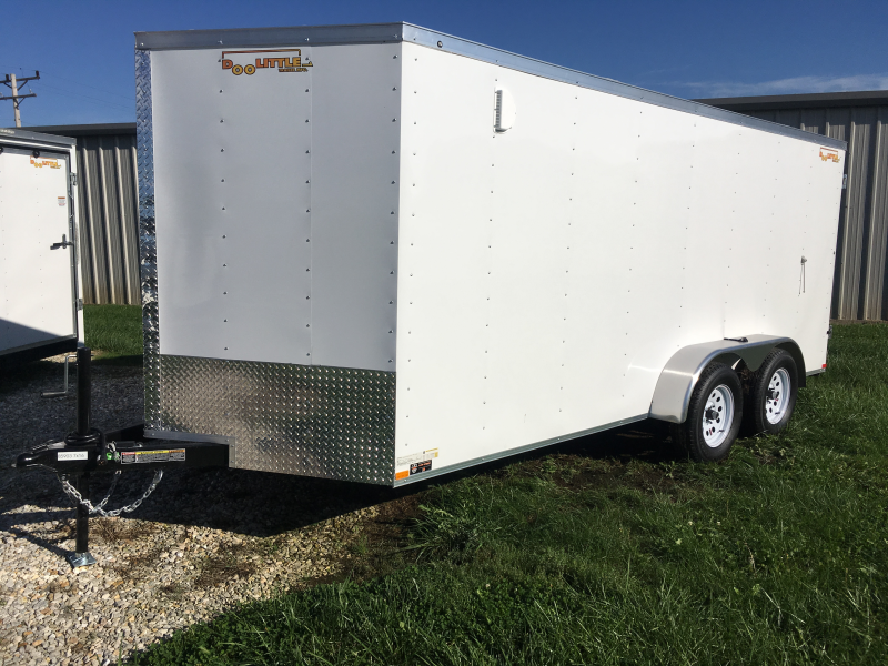 2020 Doolittle Trailer Mfg 7' X 16' RALLY SPORT Enclosed Cargo Trailer