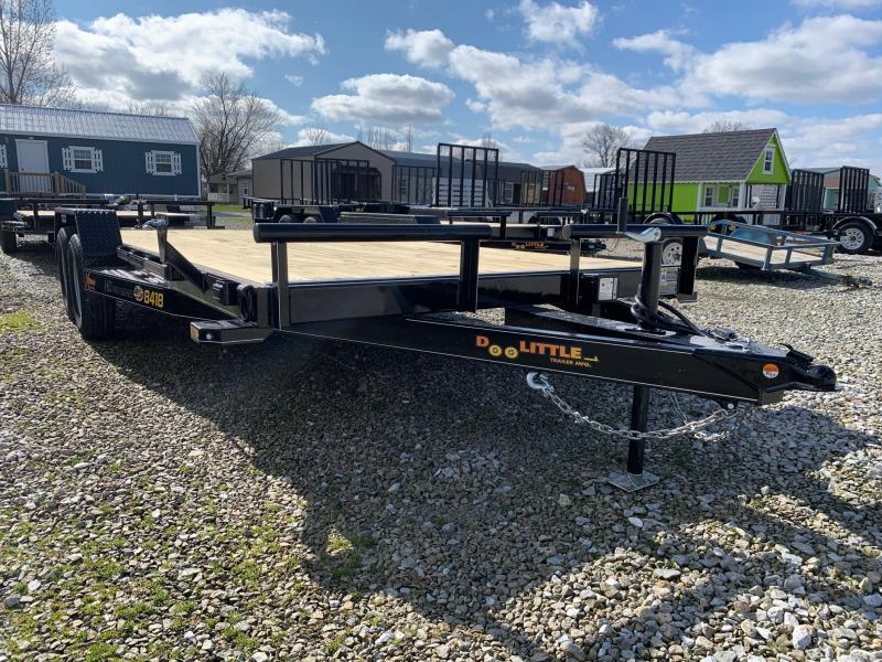 "2020 Doolittle Trailer Mfg 84"" x 18"" + 2' Dove XTREME Equipment Trailer"