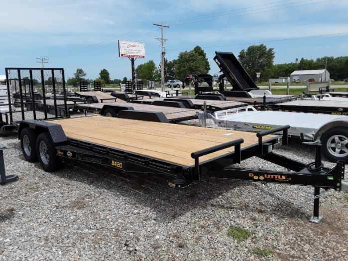 "2020 Doolittle Trailer Mfg 84"" x 18"" + 2' Dove Equipment Trailer"