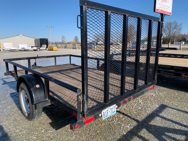 2015 Big Tex Trailers 77x10 Utility Trailer