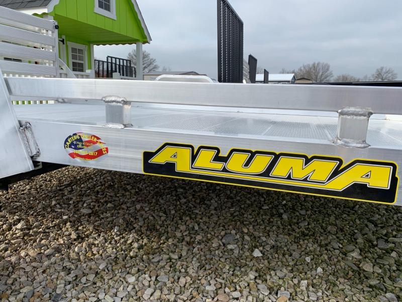 2021 Aluma 7710H Utility Trailer