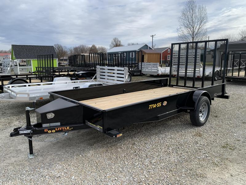 2020 Doolittle Trailer Mfg 77 X 14 SS SERIES Utility Trailer