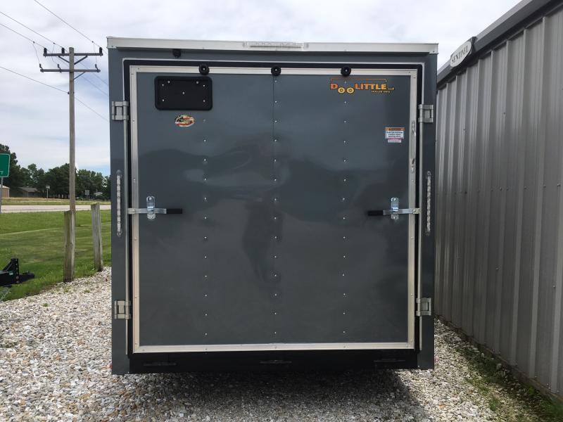 New 2020 Doolittle 7 x 16 Rear Ramp Door Enclosed Cargo Trailer