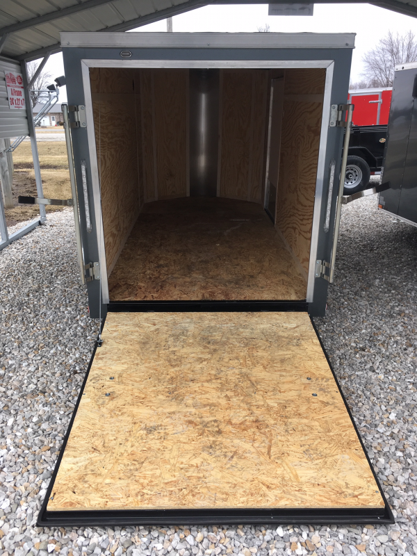 2019 Doolittle Trailer Mfg 5' X 10' RAMP DOOR Enclosed Cargo Trailer