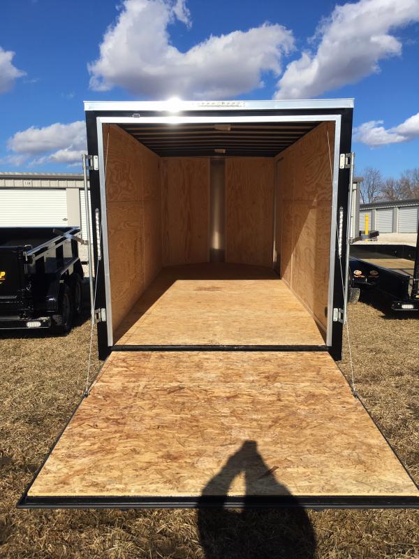 2020 Doolittle Trailer Mfg 7 x 16 Rear Ramp Door Enclosed Cargo Trailer