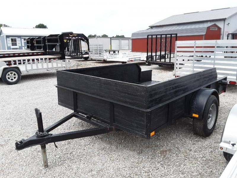 "USED 2004 Other 76"" x 10' Tilt Utility Trailer"