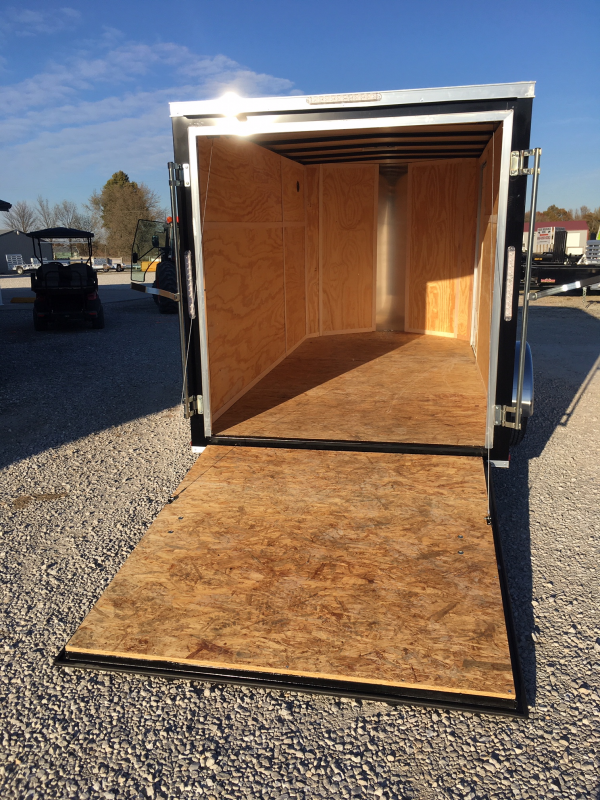 2020 Doolittle Trailer Mfg 6 x 12 Enclosed Cargo Trailer Rear Ramp Door