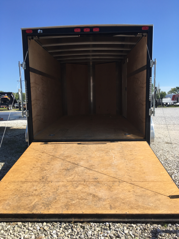 USED 2016 H and H Trailer 7' x 12' Enclosed Cargo Trailer