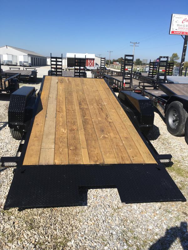 2020 Doolittle Trailer Mfg 82 X 16 6' Equipment Trailer