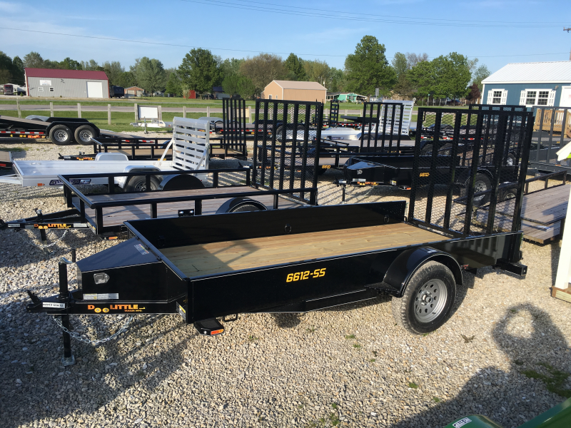 2019 Doolittle Trailer Mfg 66 x 12 SS SERIES Utility Trailer