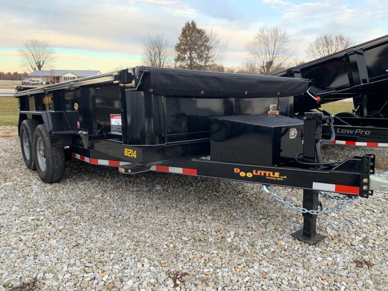 "2020 Doolittle 82"" X 14' MASTER Dump Trailer 14K GVWR SCISSOR LIFT"