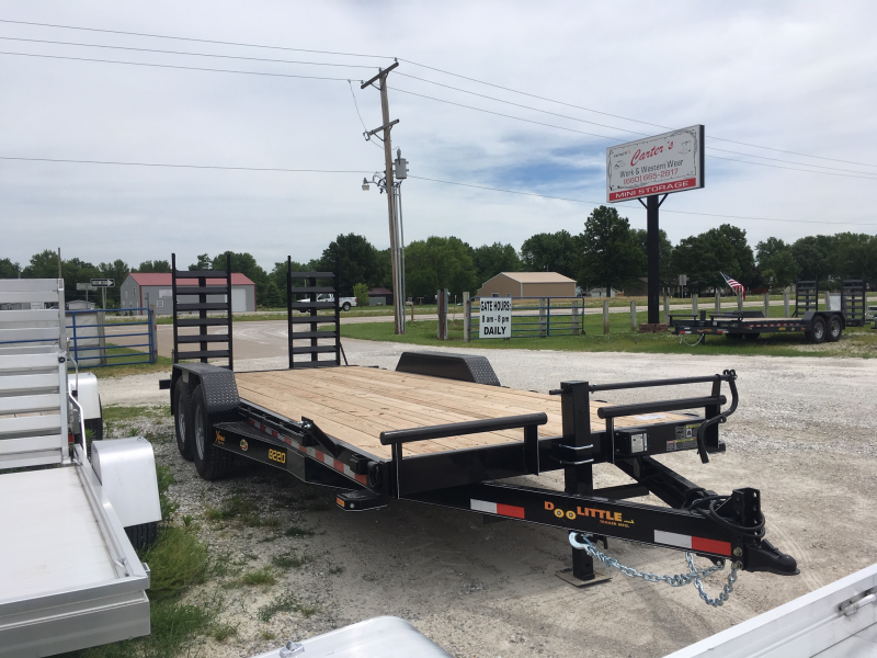 "New 2019 Doolittle 82"" X 18' + 2' XTREME EQUIPMENT TRAILER 14K GVWR"