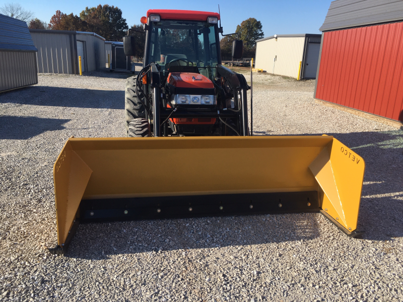 "2019 VETCO 8' WIDE X 30"" TALL HD COMMERCIAL GRADE SNOW PUSHER ATTACHMENT"