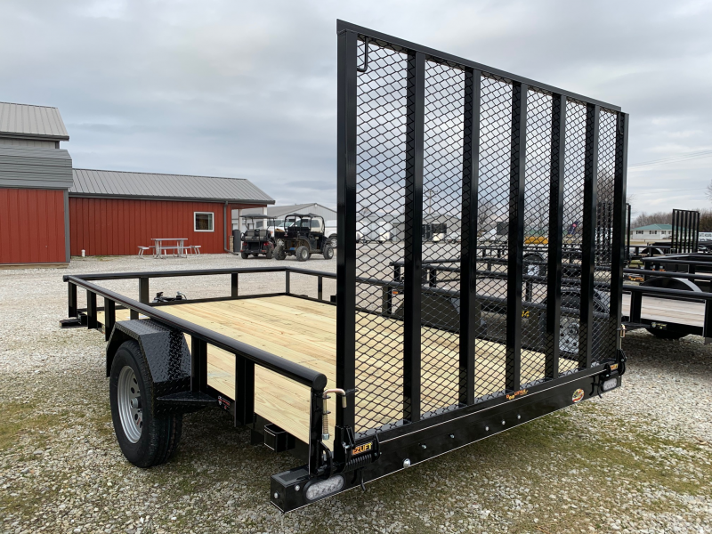 "2020 Doolittle Trailer Mfg 84"" X 12' Pipe Rail Utility Trailer"