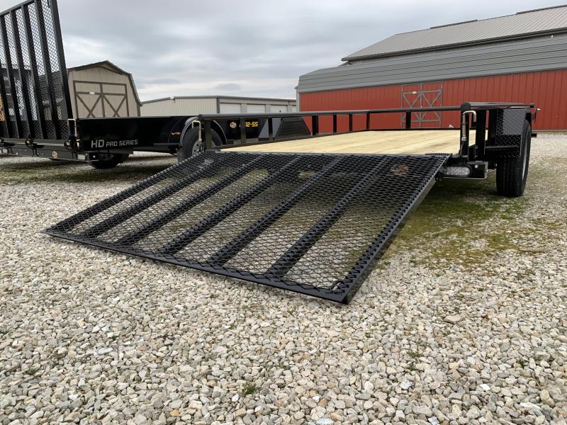 "2020 Doolittle Trailer Mfg 84"" X 12' Pipe Rail Utility Trailer"