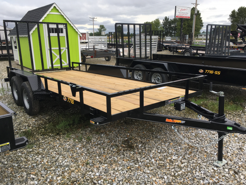 2020 Doolittle Trailer Mfg 77 X 16 RALLY SPORT Utility Trailer