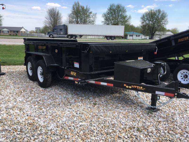 2019 Doolittle Trailer Mfg 82 x 12 MASTER Dump Trailer 14000 GVWR DUAL CYLINDER LIFT