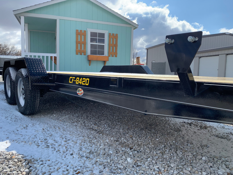 "2020 Doolittle 84"" X 18' + 2' DOVE CF Equipment Trailer"