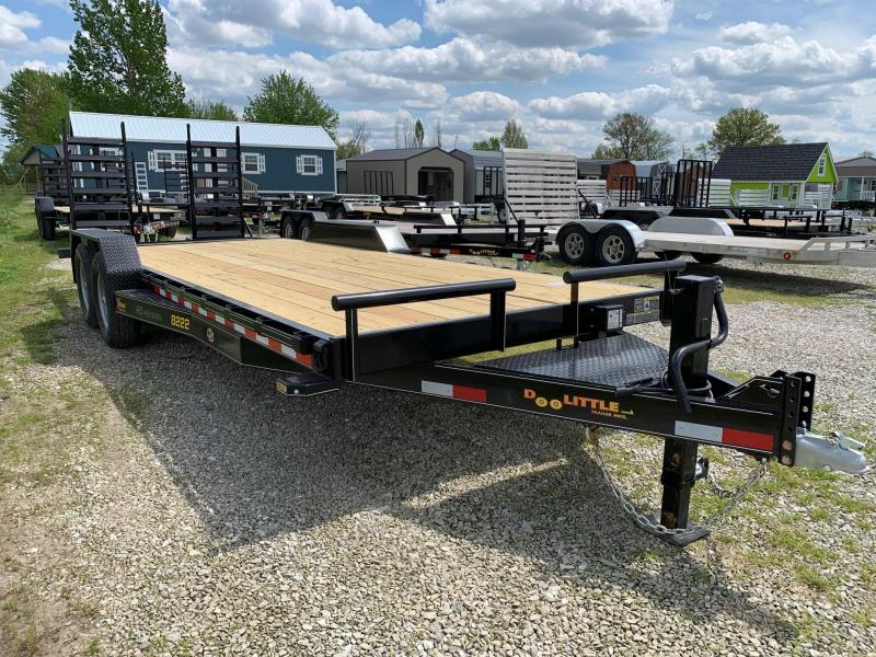 "2020 Doolittle 82"" X 20' + 2' XTREME EQUIPMENT TRAILER 14K GVWR"
