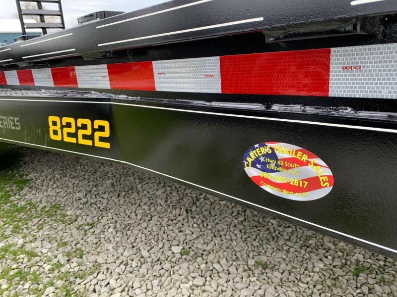 "2020 Doolittle 82"" X 20' + 2' XTREME EQUIPMENT TRAILER 14K GVWR"