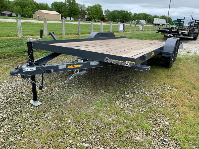 2019 Doolittle Trailer Mfg 84 X 16 RALLY SPORT FLATBED Equipment Trailer