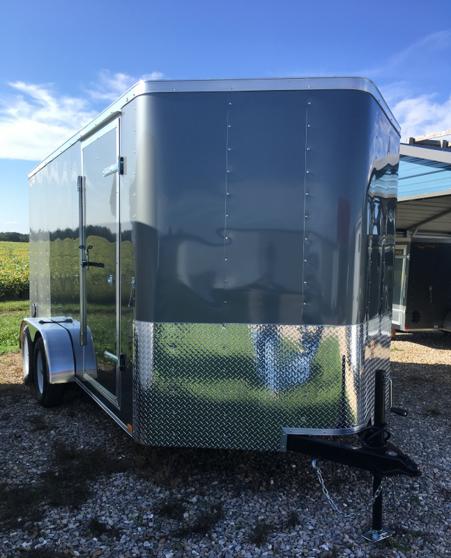 2020 Doolittle Trailer Mfg 7' X 14' Enclosed Cargo Trailer