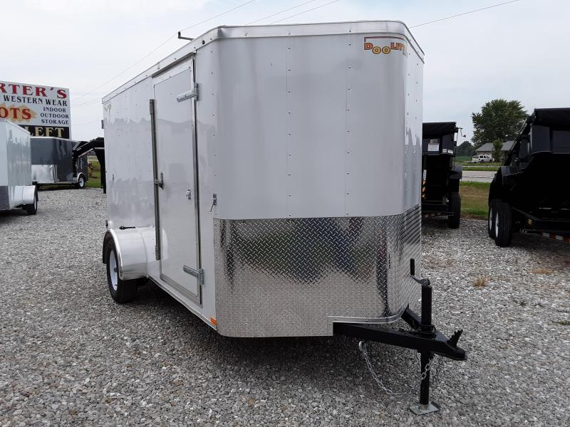 2019 DooLitttle 6 x 12 Enclosed Cargo Trailer W/ Double Doors