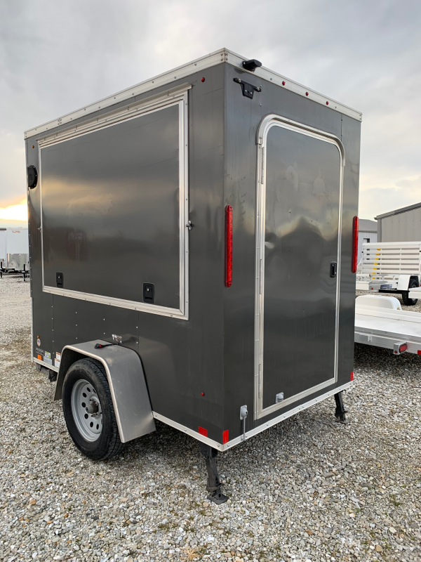 2015 Look 5 x 8 Enclosed Cargo Trailer