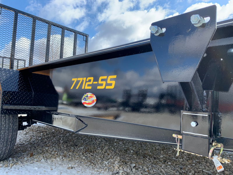 "2020 Doolittle Trailer Mfg 77"" X 12' SS Utility Trailer"