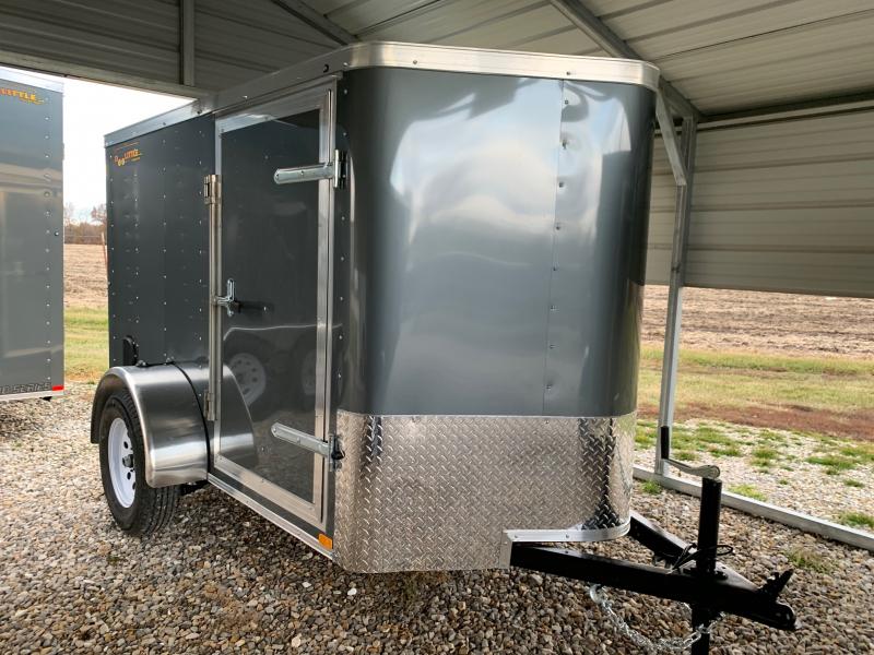 New 2020 Doolittle 5 x 8 Rear Ramp Door Enclosed Cargo Trailer