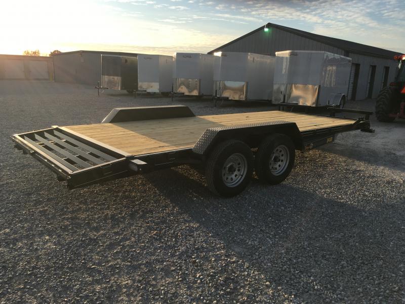 2020 Doolittle Trailer Mfg 84 X 16' + 2' DOVE Equipment Trailer
