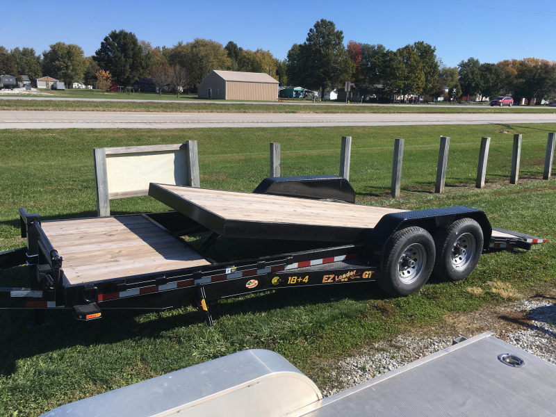 "2020 Doolittle Trailer Mfg 82"" X 18' +4' Equipment Trailer"