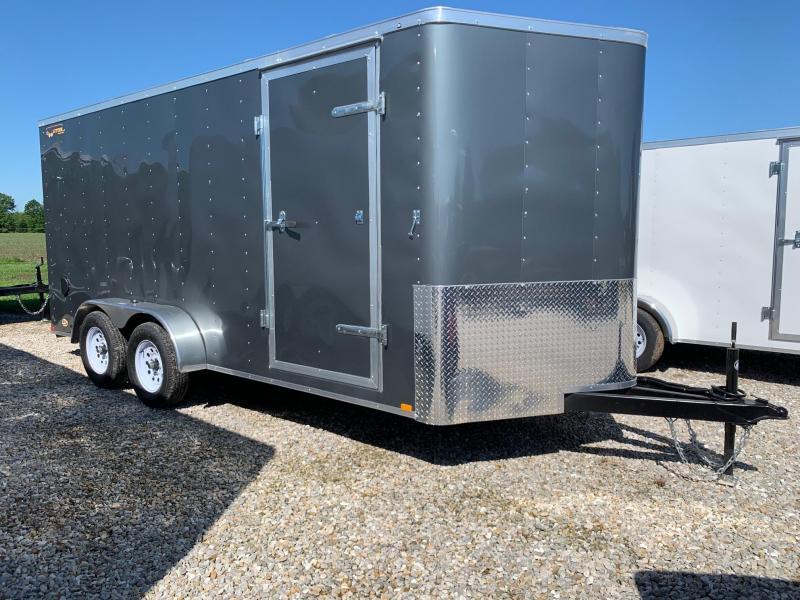 2020 Doolittle Trailer Mfg 7X16 Enclosed Cargo Trailer REAR RAMP DOOR