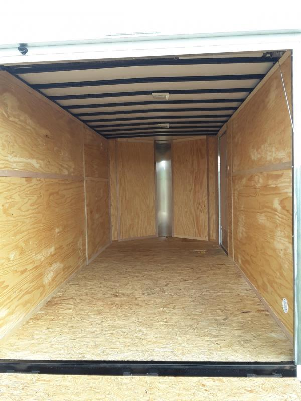 2020 DOOLITTLE TRAILER MFG 7 X 14 CARGO T/A REAR RAMP DOOR