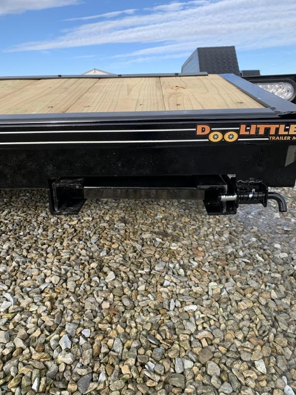 """2020 Doolittle Trailer Mfg 84"""" X16' + 2' DOVE Equipment Trailer"""