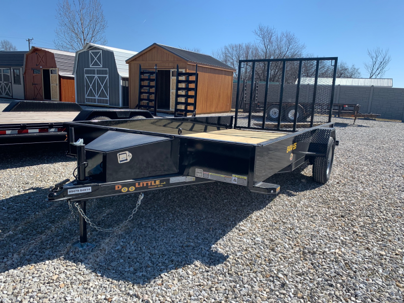 2020 Doolittle 84 x 14 SS SERIES Utility Trailer