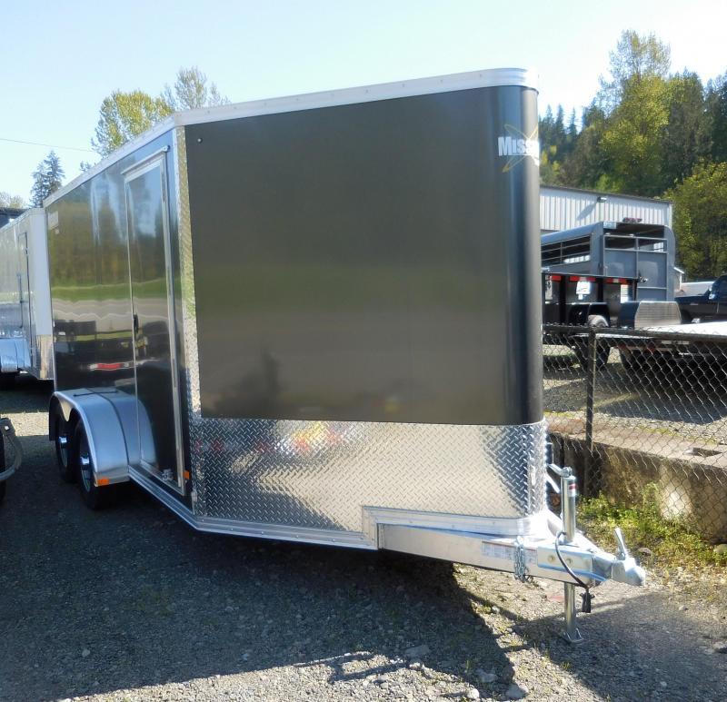 2019 Mission 7x14 All Aluminum Enclosed Cargo Trailer
