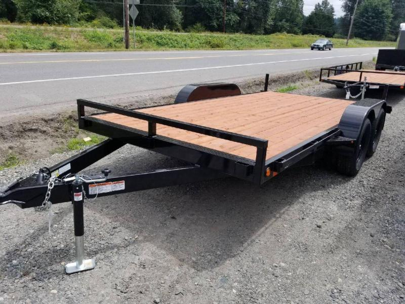 Iron Eagle  7000 Series Flatbed Trailer - Ramps Included