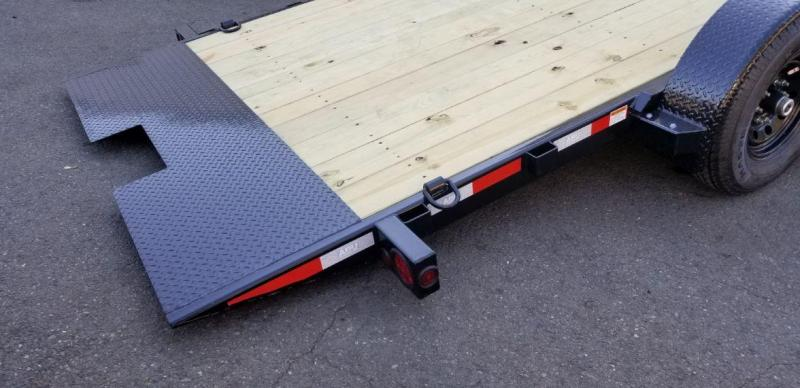 2020  ABU 7x18 Full Tilt 10k Flatbed Trailer